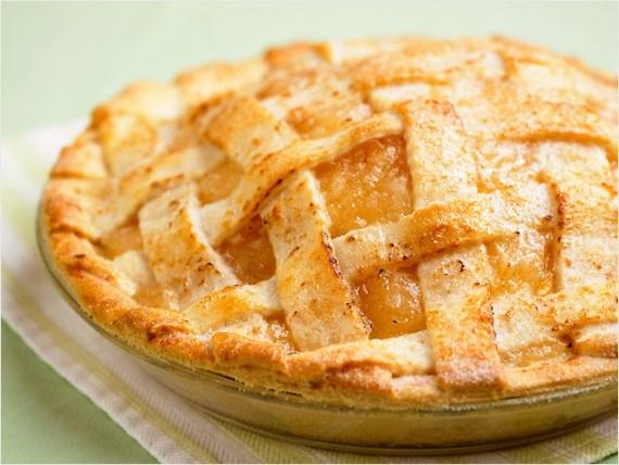 Пирог с яблоками из песочного теста рецепт