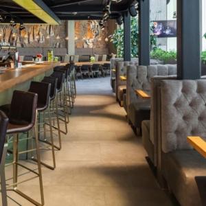 Рестораны, кафе, бары, Американская кухня - Bar BQ Cafe (ТРЦ «Метрополис»)