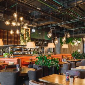 Рестораны, кафе, бары, Американская кухня - Bar BQ Cafe