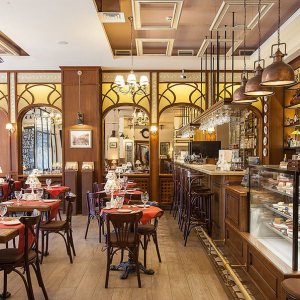 Рестораны, кафе, бары, Европейская кухня - Café by Interoptika