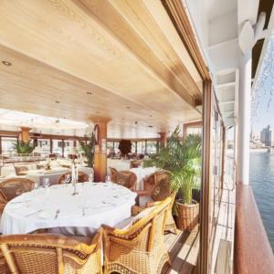 Рестораны, кафе, бары, Средиземноморская кухня - Чайка. Ресторан-яхта