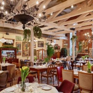 Рестораны, кафе, бары, Европейская кухня - Салон