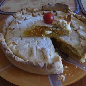 Абрикос - Абрикосово-апельсиновый пирог