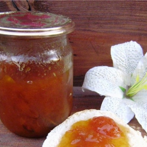 Рецепты десертов - Абрикосово-имбирное варенье