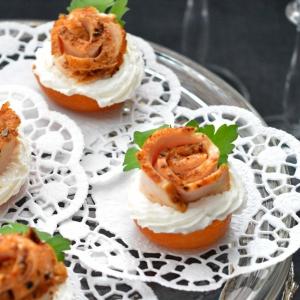 Корица - Абрикосы с фетой и пряной курицей