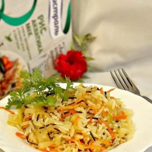 Ананас - Ананасово-овощной рис