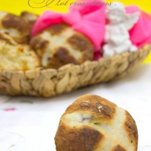 Анис - Английские крестовые булочки
