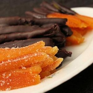 Рецепты десертов - Апельсиновые цукаты