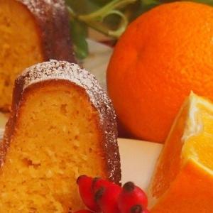 Кокос - Апельсиновый кекс с кокосом