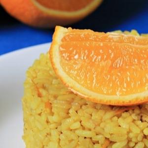 Имбирь - Апельсиновый рис