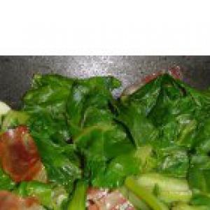 Рецепты испанской кухни - Аселга отварная с ветчиной