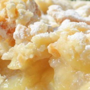 Рецепты австралийской кухни - Австралийский яблочный пирог