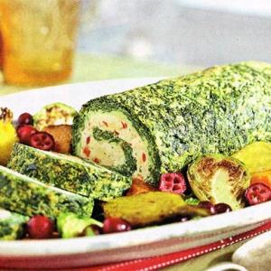 Овощные рецепты - Австрийский рулет