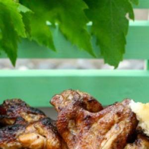 Лук-шалот - Азиатский маринад для куриных крыльев и не только