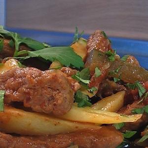 Тушеное мясо - Азу