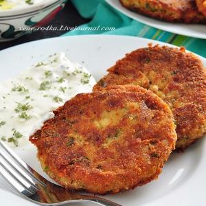 Рецепты средиземноморской кухни - Баклажановые котлеты