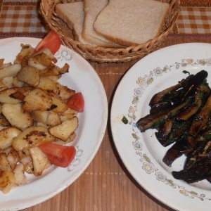 Рецепты кавказской кухни - Баклажаны по-Вишнёвски