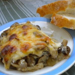 Запеченные грибы - Баклажаны, запеченные с грибами
