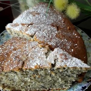 Ваниль - Бананово-маковый пирог