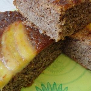 Рецепты для блендера - Бананово-миндальный пирог