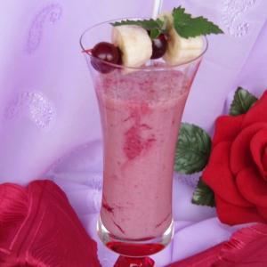 Мороженое - Бананово-вишневый коктейль