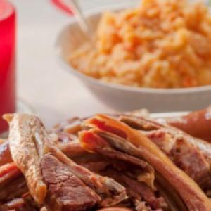 Рецепты скандинавской кухни - Бараньи ребра