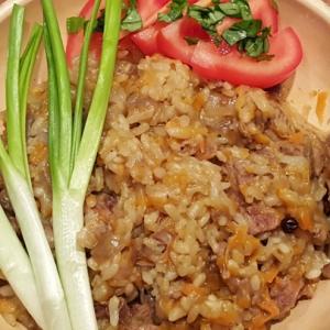 Баранина - Баранина с рисом