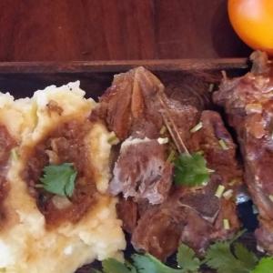 Тушеное мясо - Баранина, тушеная в мультиварке