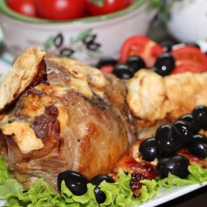 Рецепты балканской кухни - Баранина, запеченная с йогуртовым соусом