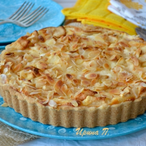 Миндаль - Баварский яблочный торт