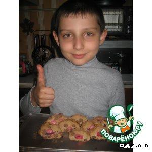 Рак - Бисквитное печенье