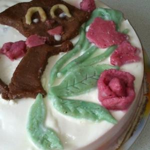 Бузина - Бисквитный торт Мартовский кот