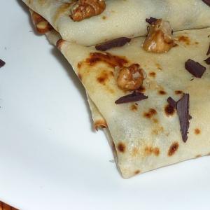 Пользователи - Блинчики с шоколадом и грецким орехом