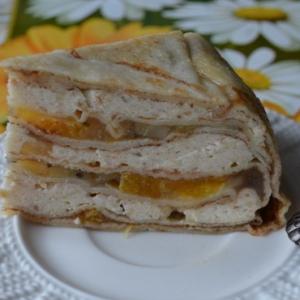 Киви - Блинный торт Экзотика