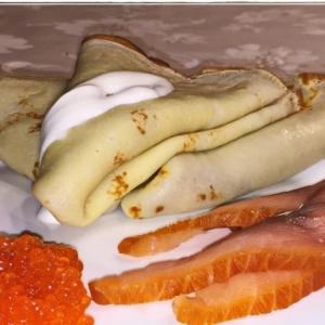 Рецепты белорусской кухни - Блины на пахте