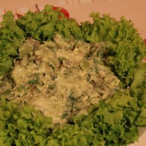 Вегетарианская кухня - Бобы с майонезом