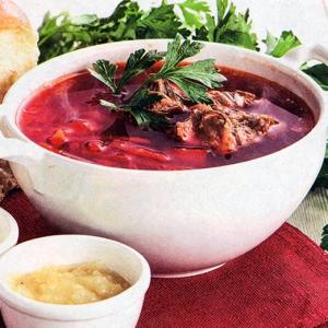 Рецепты супов - Борщ с болгарским перцем