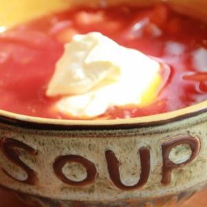 Рецепты молдавской кухни - Борщ с телятиной и фасолью