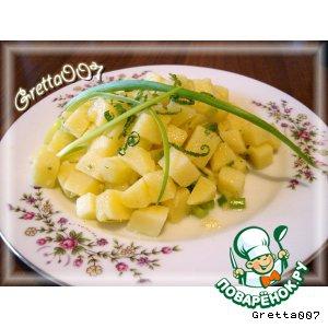 Чешская кухня - Брамборовый салат