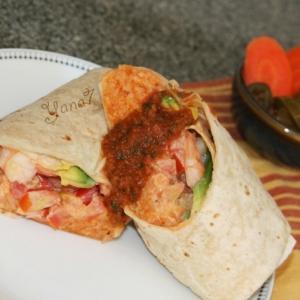 Рецепты мексиканской кухни - Буррито с креветками