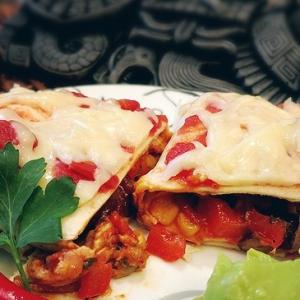 Рецепты латиноамериканской кухни - Буррито с курицей