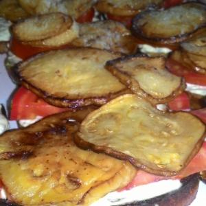 Бутерброды с баклажанами по-грузински
