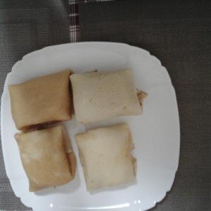 Колбаса - Быстрые и сытные блинчики