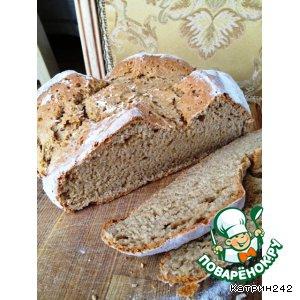 Рецепты ирландской кухни - Быстрый пшенично-ржаной хлеб