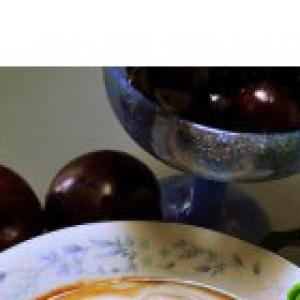 Черешня - Быстрый суп за 5 минут