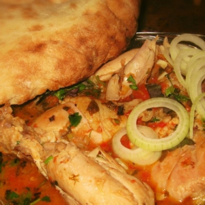 Рецепты грузинской кухни - Чахохбили из курицы