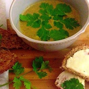 Чечевица - Чечевичный суп-пюре