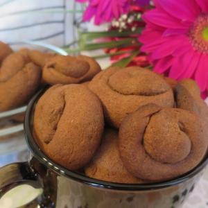 Сметана - Черёмуховое печенье