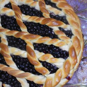 Черника - Черничный пирог