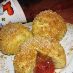 Чешские картофельные клецки со сливами